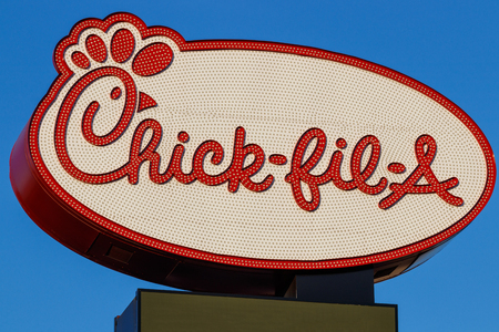 Las Vegas - Circa June 2019: Chick-fil-A Retail Fast Food Location. Chick-fil-A Restaurants are Closed on Sundays I
