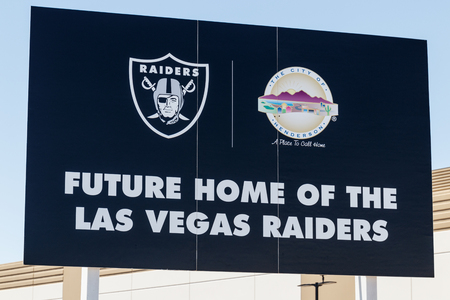 Henderson - Circa June 2019: Raiders new practice facility. The Raiders begin play in Las Vegas in 2020 I