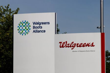 Deerfield - Circa June 2019: Walgreens Boots Alliance Headquarters. WBA brought together Walgreens and Alliance Boots pharmaceuticals XI