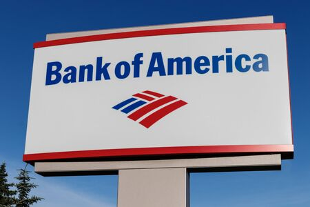 Deerfield - Circa June 2019: Bank of America Bank and Loan Branch. Bank of America is also known as BofA or BAC VI