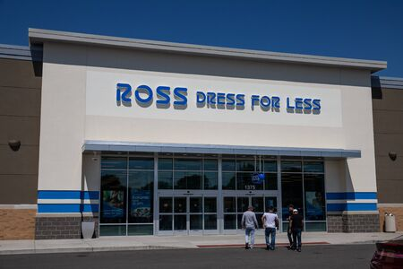 Kokomo - Circa July 2019: Ross Dress for Less Retail Store. Ross Stores continues its aggressive expansion III