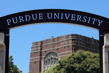 West Lafayette - Circa July 2019: Purdue Welcome Center at Purdue University I Editorial