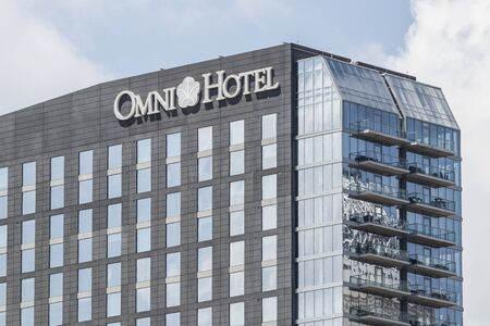 Louisville - Circa July 2019: Omni Hotel and resort. Omni Hotels are privately held by TRT Holdings I