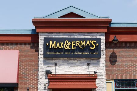 Louisville - Circa July 2019: Max & Ermas Restaurant and Bar. Max & Ermas is based in Columbus and is currently owned by Glacier Restaurant Group I Editorial