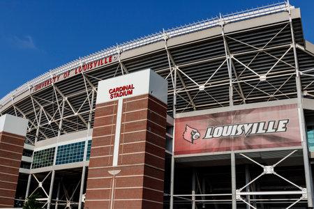 Louisville - Circa July 2019: University of Louisville Cardinal Football Stadium I