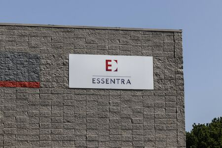 Indianapolis - Circa July 2019: Essentra Packaging location. Essentra has its headquarters in Buckinghamshire, England and is a plastics supplier I Reklamní fotografie - 132494808