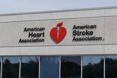 Indianapolis - Circa September 2019: American Heart Association and American Stroke Association local office. The AHA is a non-profit organization that funds cardiovascular medical research I