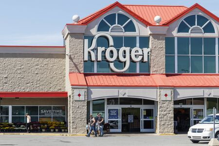 Kokomo - Circa September 2019: Kroger Supermarket. The Kroger Co. is One of the World's Largest Grocery Retailers V