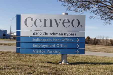 Indianapolis - Circa January 2020: Cenveo Envelope Group location. Cenveo is one of the largest envelope manufacturers 報道画像