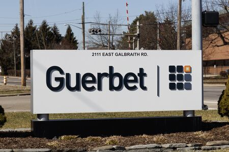 Cincinnati - Circa February 2020: Guerbet medical imaging and former Mallinckrodt location.