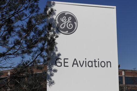 Cincinnati - Circa February 2020: General Electric Aviation Facility. GE Aviation is a Provider of GE90 and LEAP Jet Engines.