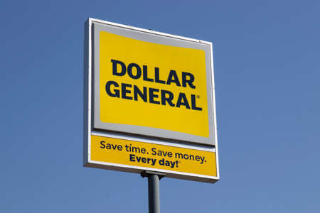 Indianapolis - Circa April 2020: Dollar General Retail Location. Dollar General is a Small-Box Discount Retailer.