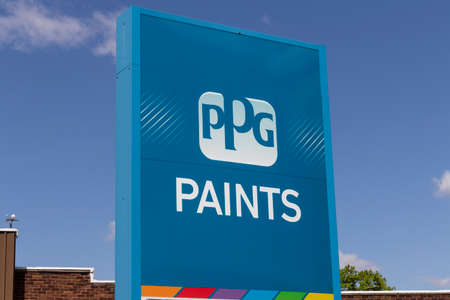 Terre Haute - Circa May 2020: PPG Paints location. PPG Industries is a supplier of paints, coatings, specialty materials, and fiberglass.