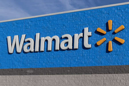 Greenfield - Circa December 2020: Walmart Retail Location. Walmart introduced its Veterans Welcome Home Commitment and plans on hiring 265,000 veterans.