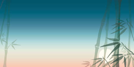 bamboo, gradients