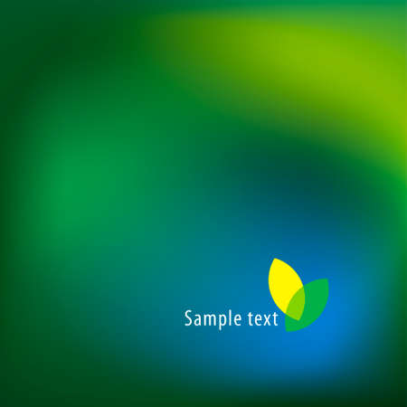 Abstract beautiful vector blurred background