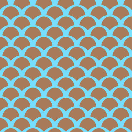 Color squama seamless pattern