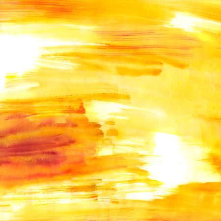 높은 해상도로 스캔 한 핑크와 오렌지 수채화 배경,