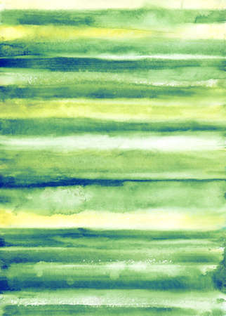 Bright striped watercolor background in spring colors Stock Photo - 44700903