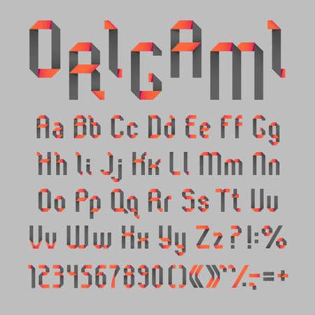 3D origami diagram~ upper case alphabet | designed by me NOT… | Flickr | 450x450