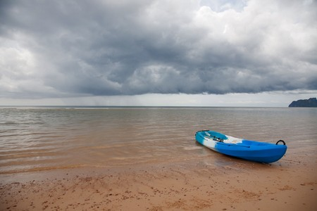 Lonely Kayak,Thailand 免版税图像