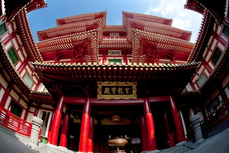 Chinese Temple 免版税图像
