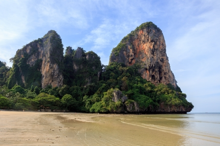 railay: Railay Beach in Krabi province, Thailand