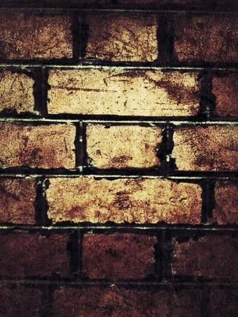 grunge: Brick wall background