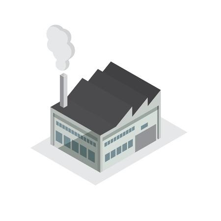 fabrieksgebouw klein model ontwerp