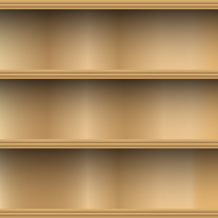 wood shelf: Estante de madera vac�o de pared decorativos