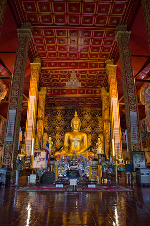 places of worship: NAN,THAILAND July 28: Wat Suan Tarn Places of worship and temple on July 28,2015. Nan,Thailand.