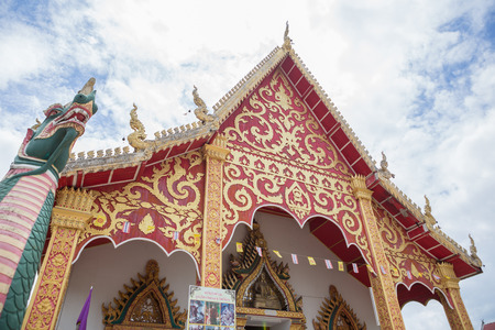 architech: NAN,THAILAND July 28: Wat Suan Tarn Places of worship and temple on July 28,2015. Nan,Thailand.