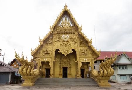 places of worship: NAN,THAILAND July 29: Wat Sri Panton Places of worship and temple on July 29,2015. Nan,Thailand.