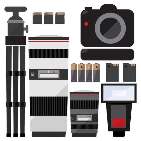 Set fotograaf accessoires