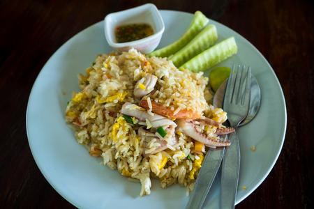 seafood fried rice,Thai food