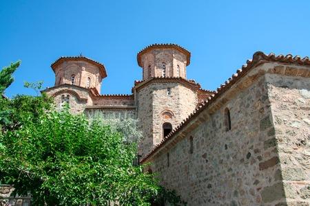 Old monastery hospital in Meteora Thessalian plain. Greece.