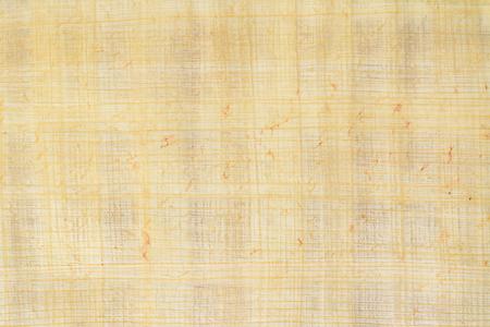 Vecchio fondo di carta di payrus reale e numero 7 di struttura, macro del primo piano.
