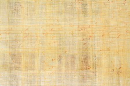 Vecchio fondo di carta di payrus reale e numero di struttura 8, macro del primo piano.