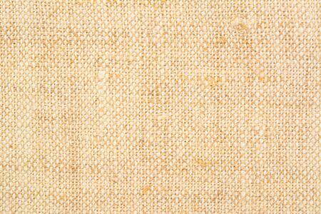 Homespun linen canvas background. Handmade linen fabric texture 1 close up. 스톡 콘텐츠