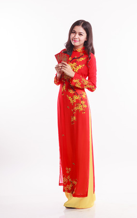 Vietnamese Long Dress Images & Stock Pictures. Royalty Free ...