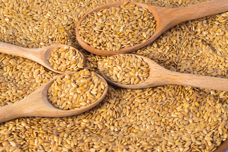 golden flax seed or linseed