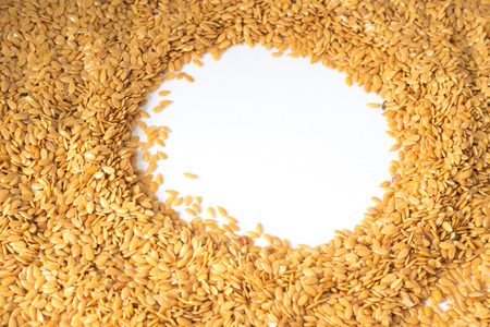 gold flax: golden flax seed or linseed