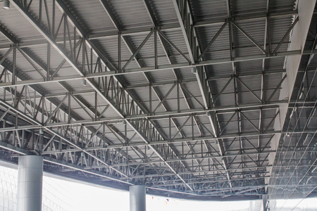 Large steel canopy.