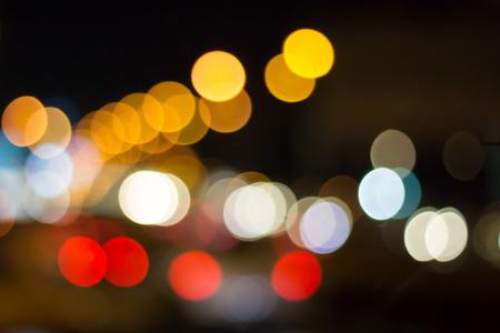 Abstract photo blurred of traffic jams. Archivio Fotografico - 107377223