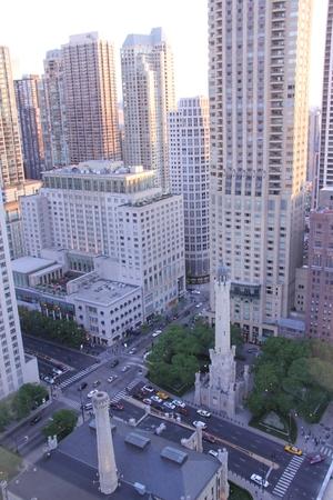 シカゴの火を目撃した、シカゴ ウォーター タワー