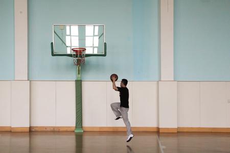 layup: Basketball court