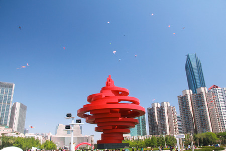 Qingdao May Fourth square