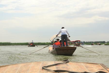boatman: The Boatman Stock Photo