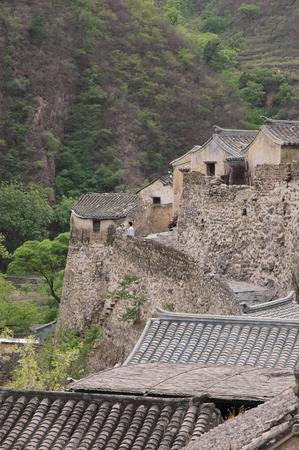 Ancient village Stock fotó