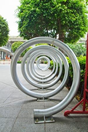 Bicycle park photo
